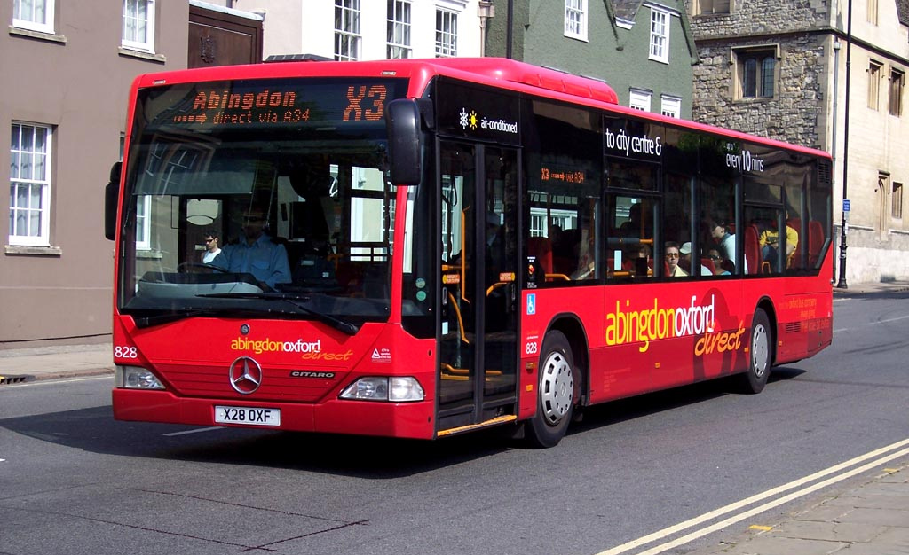 Oxford bus company outsources its maintenance